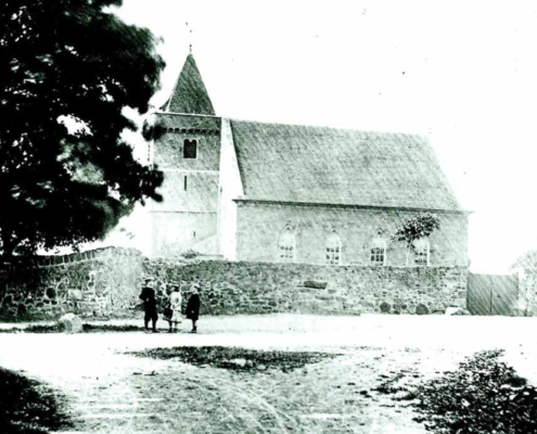 Old View of Aberlady Church